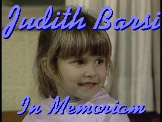 Judith Eva Barsi: June 6th, 1978-July 27th, 1988